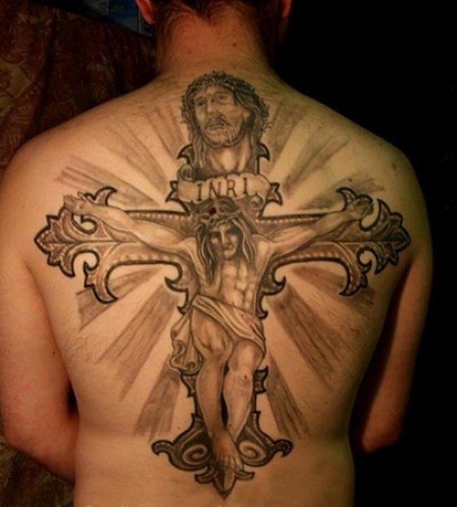 Cross Tattoo Designs (12)