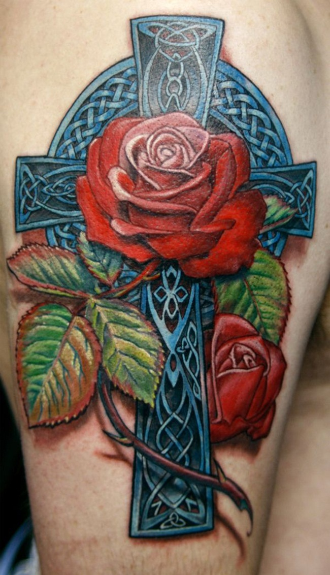 Cross Tattoo Designs (20)