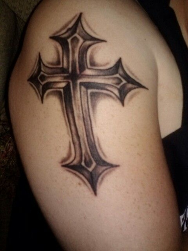 Cross Tattoo Designs (22)