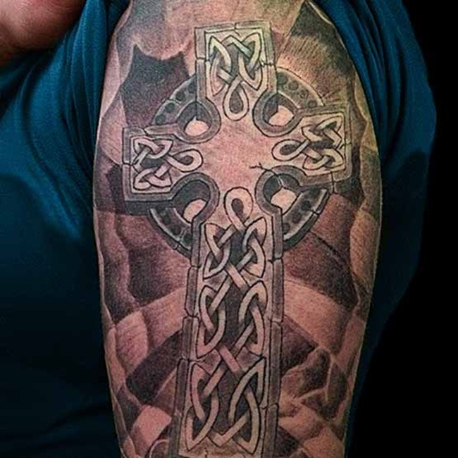 Cross Tattoo Designs (23)