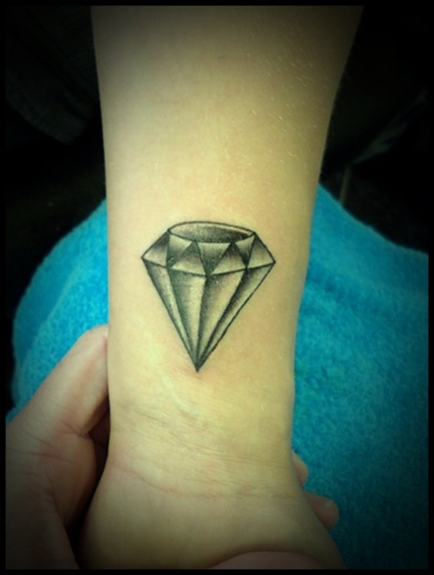 Diamond Tattoo Designs 41