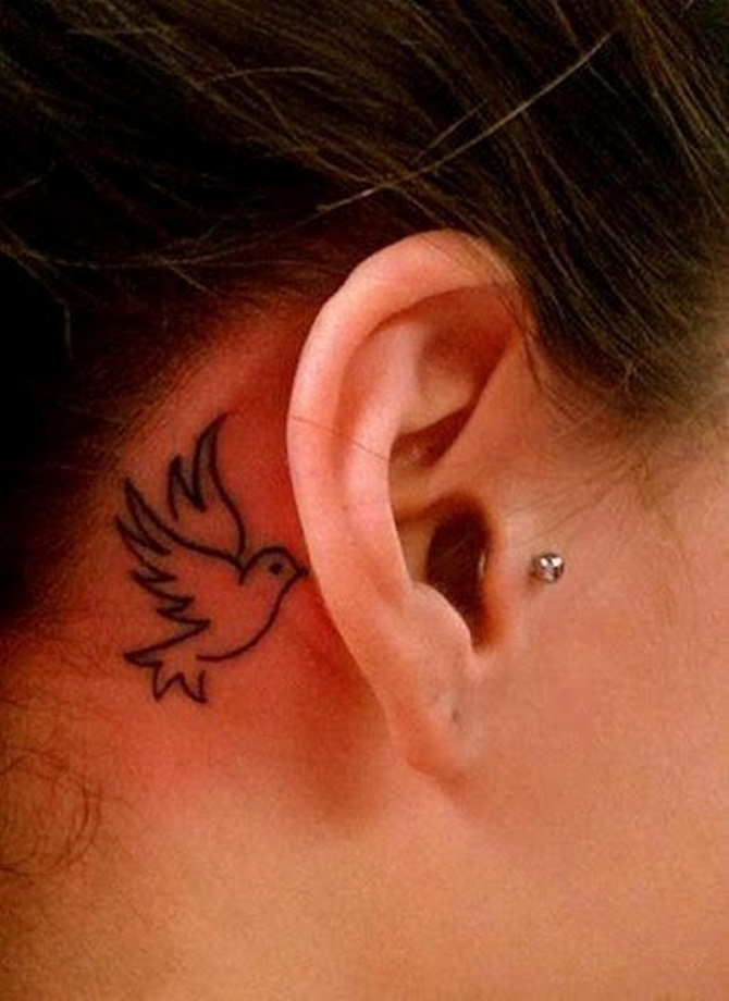 Dove Tattoo Designs For Girls (3)