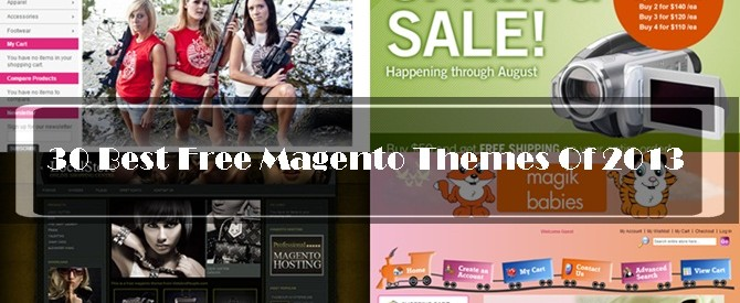 Free Magento Themes Of 2013