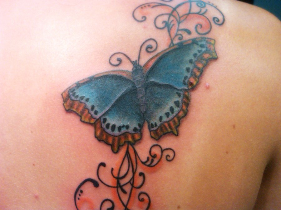 Mexican Butterfly Tattoos