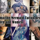 30 Amazing Mermaid Tattoo designs For Men and Women