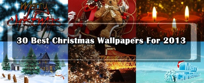 30 Best Christmas Wallpapers For 2013