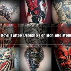 30 Devil Tattoo Designs For Men and Women