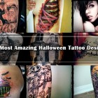 35 Most Amazing Halloween Tattoo Designs