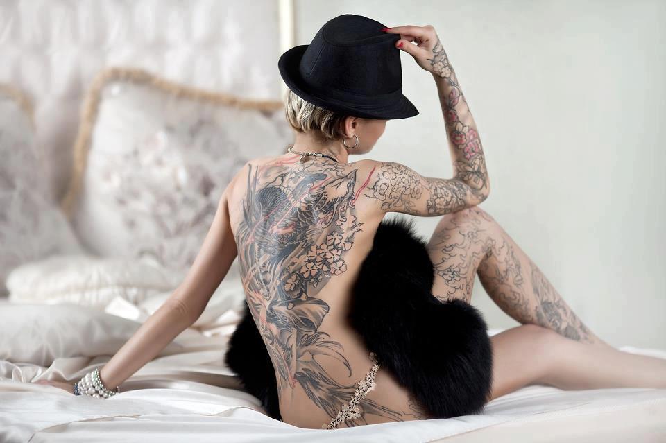 3D Back Tattoos for Women