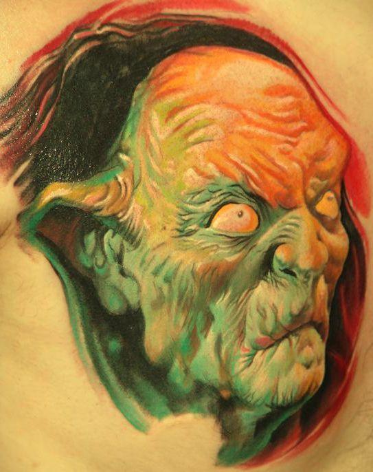 3D Demon Tattoo