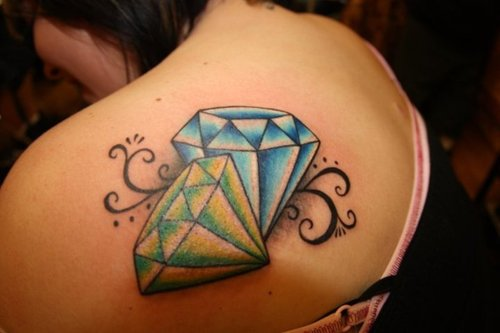 Best 3D Diamond Tattoo