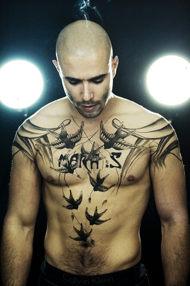Chest Tattoo Designs For Men And Women (2)
