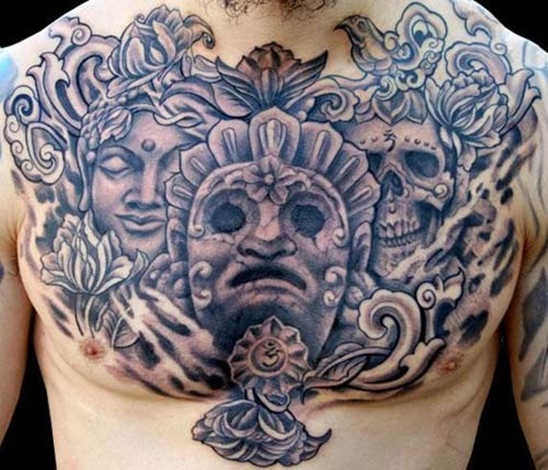 Chest Tattoo Designs For Men And Women (3)
