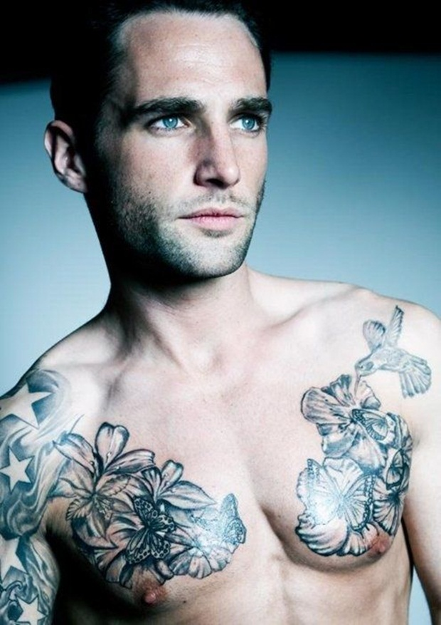 Chest Tattoo Designs For Men And Women (31)