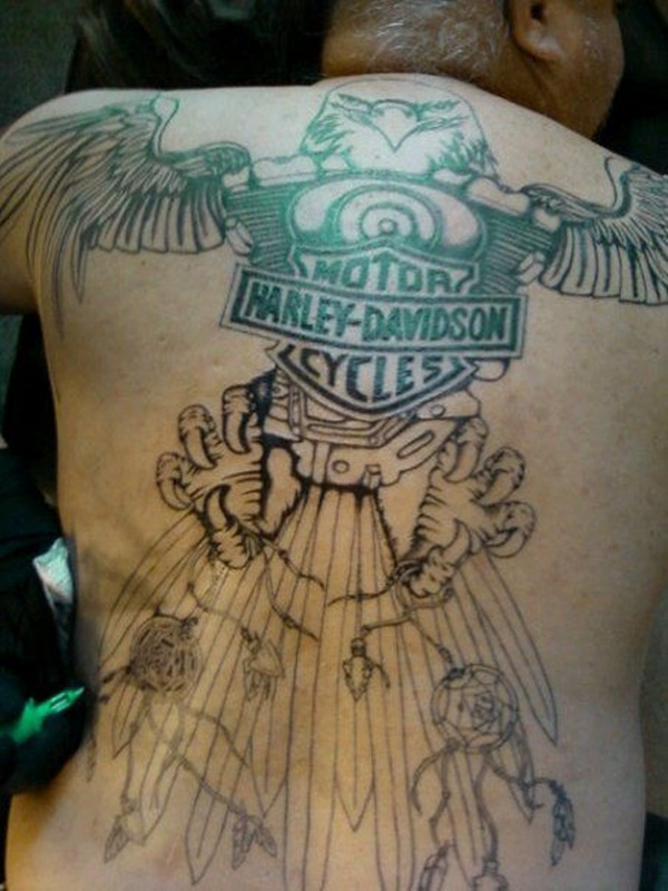 Eagle Tattoo (2)