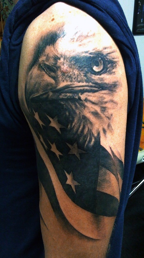 Eagle Tattoo (40)