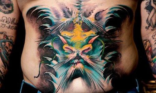 Horror 3D Tattoo