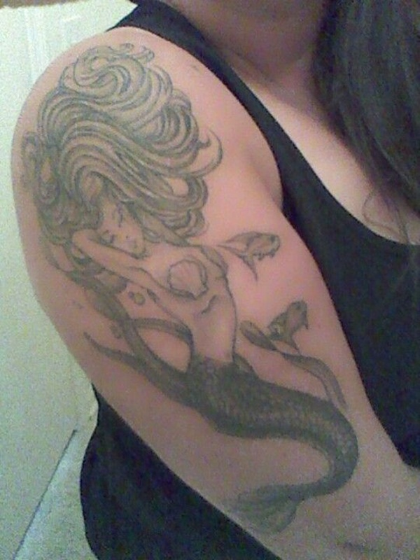 Mermaid Tattoo (12)