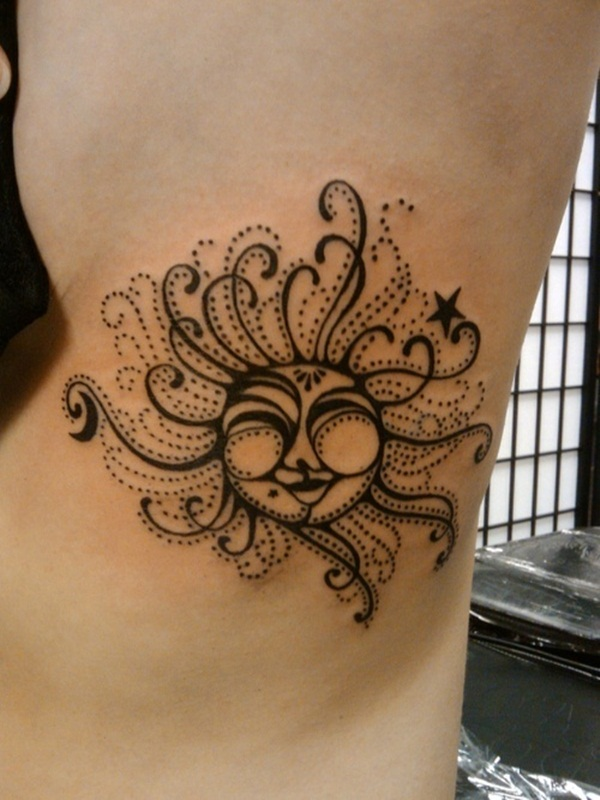 Sun Tattoo Designs (13)