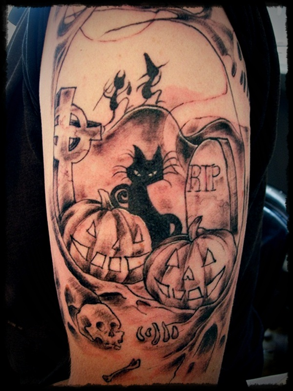 Halloween tattoo Designs (1)