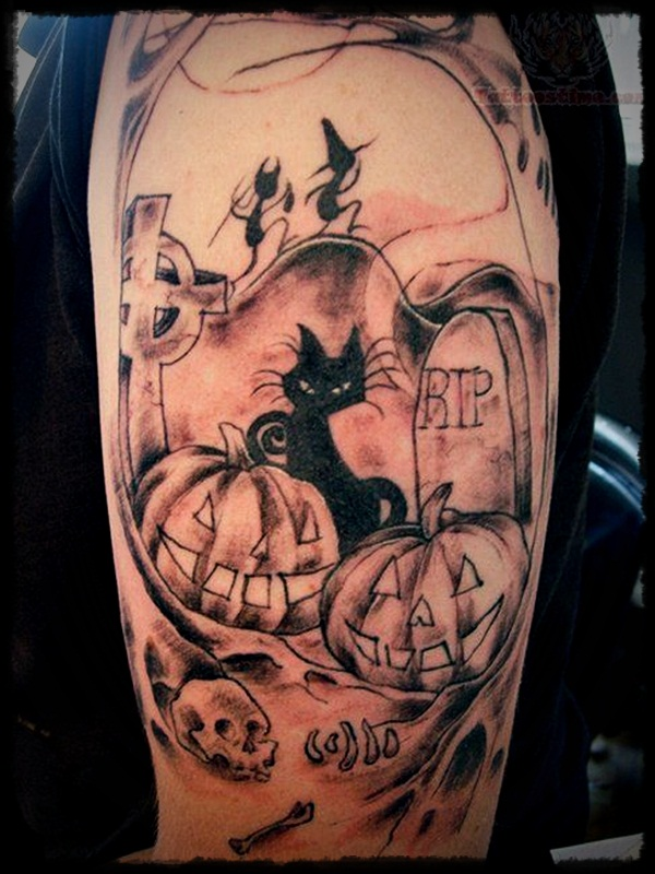 halloween tattoo Designs (18)