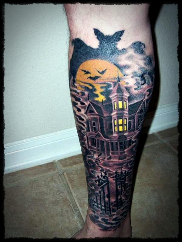 halloween tattoo Designs (29)