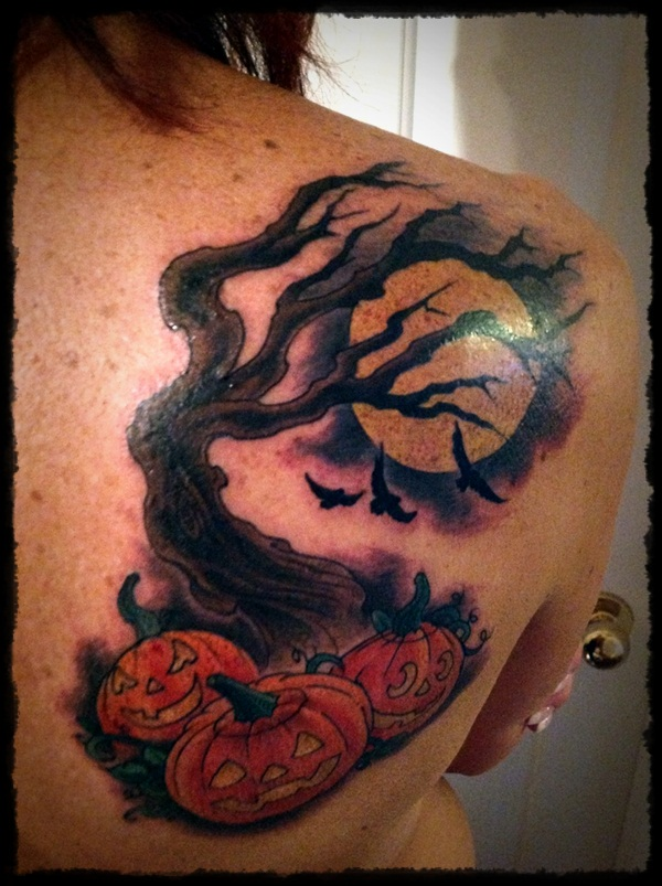 halloween tattoo Designs (33)