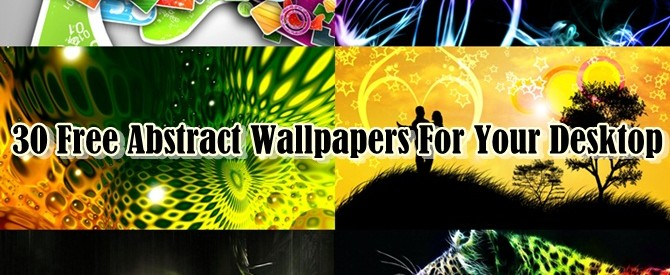 30 Free Abstract Wallpapers For Your Desktop
