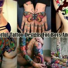 35 Colorful Tattoo Designs For Boys And Girls