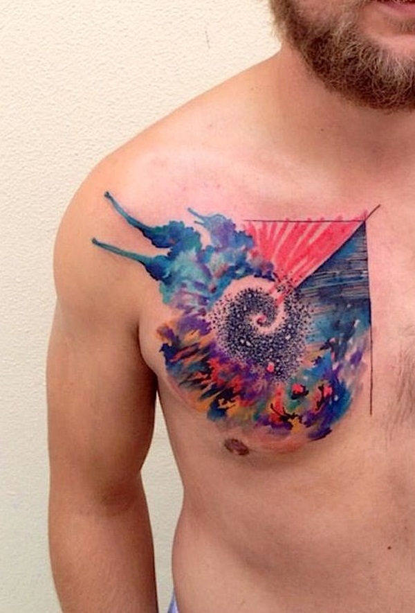tattoo colors: Water Color Tattoo Design Idea Pictures Images ...