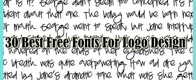 30 Best Free Fonts For Logo Design