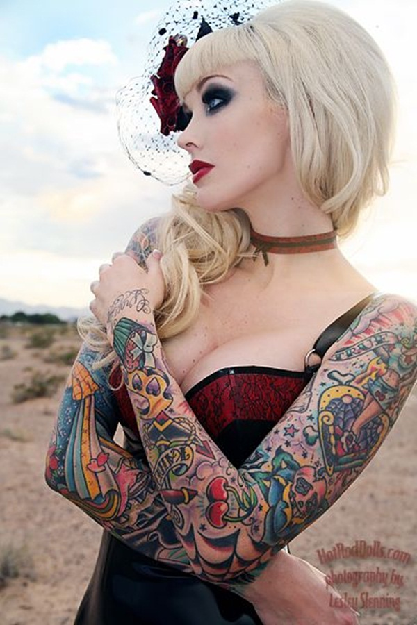 Tattoo Sleeve Designs For Girls