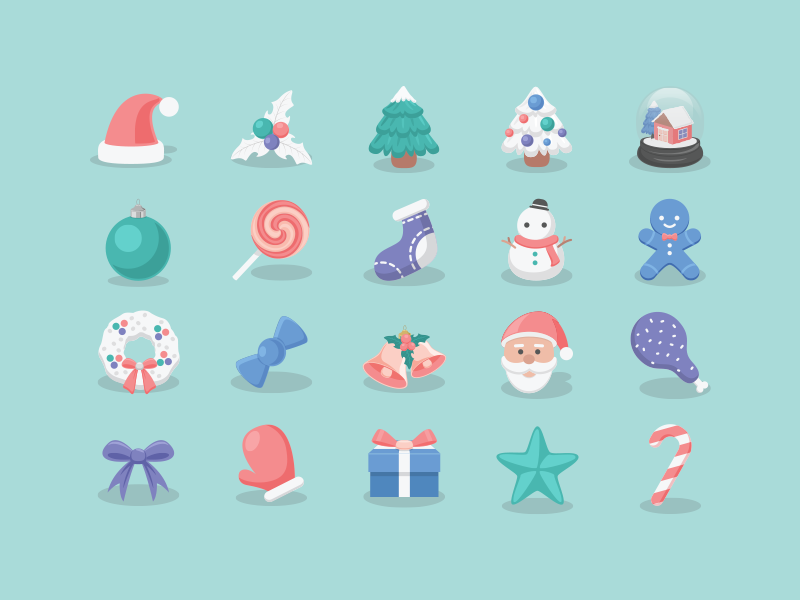 Best Christmas Icons 2015