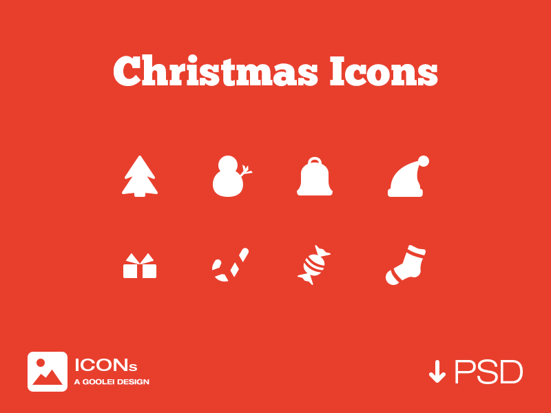 Christmas Icons by Goolei