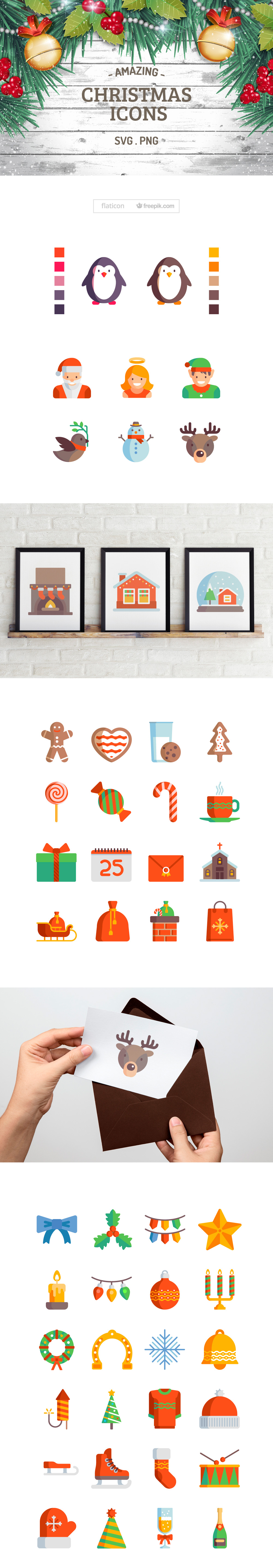 Free Amazing Christmas Icons