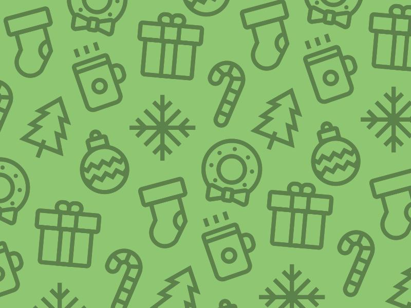 Holiday Christmas Icons Set